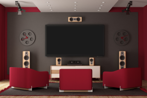 Home Theatre Installation - Nelson Electric of the Triad